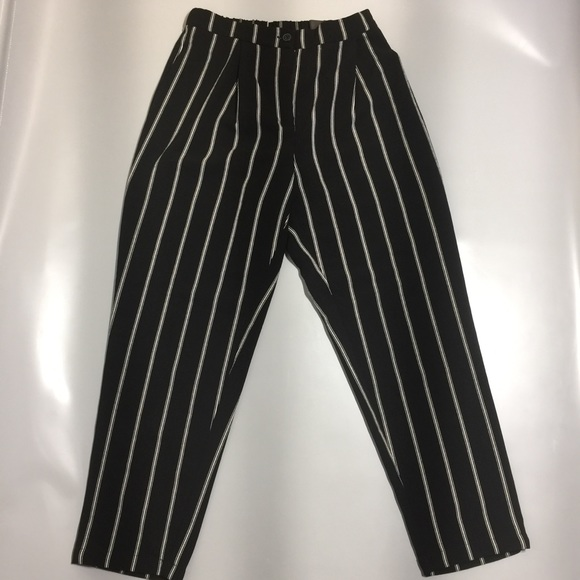 H&M striped loose pants